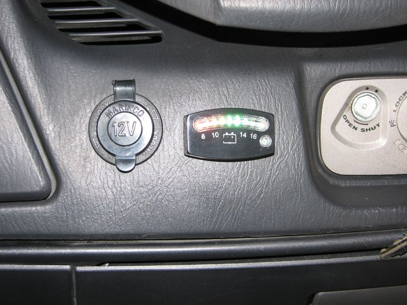 2009 04 13 17 11 55 switch, outlets, voltmeter, added to front dash suzuki burgman forum Cat 279C Wiring-Diagram Door Closure at alyssarenee.co